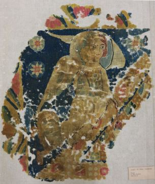 Sixth-Century Egyptian Tapestry Panel, Yale Art Gallery 1952.52.47