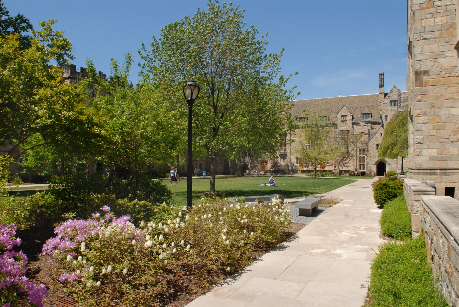 Branford College - Courtyard
