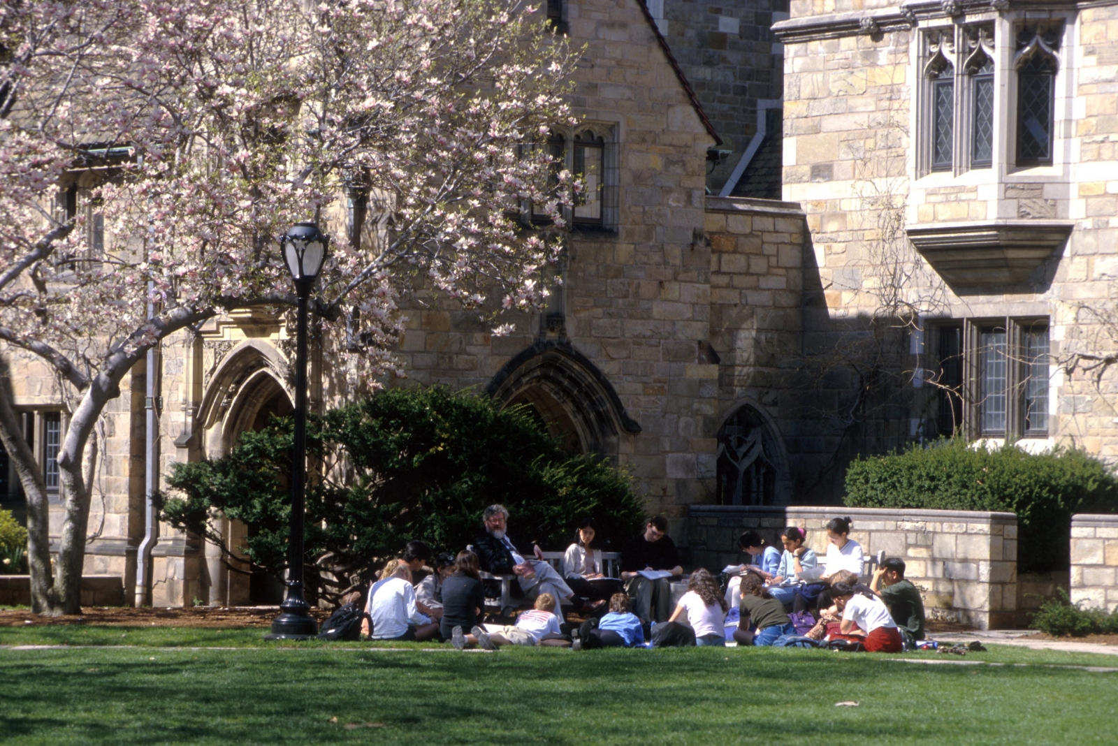 Branford College   Courtyard
