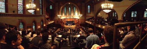 Panorama of Battell Chapel