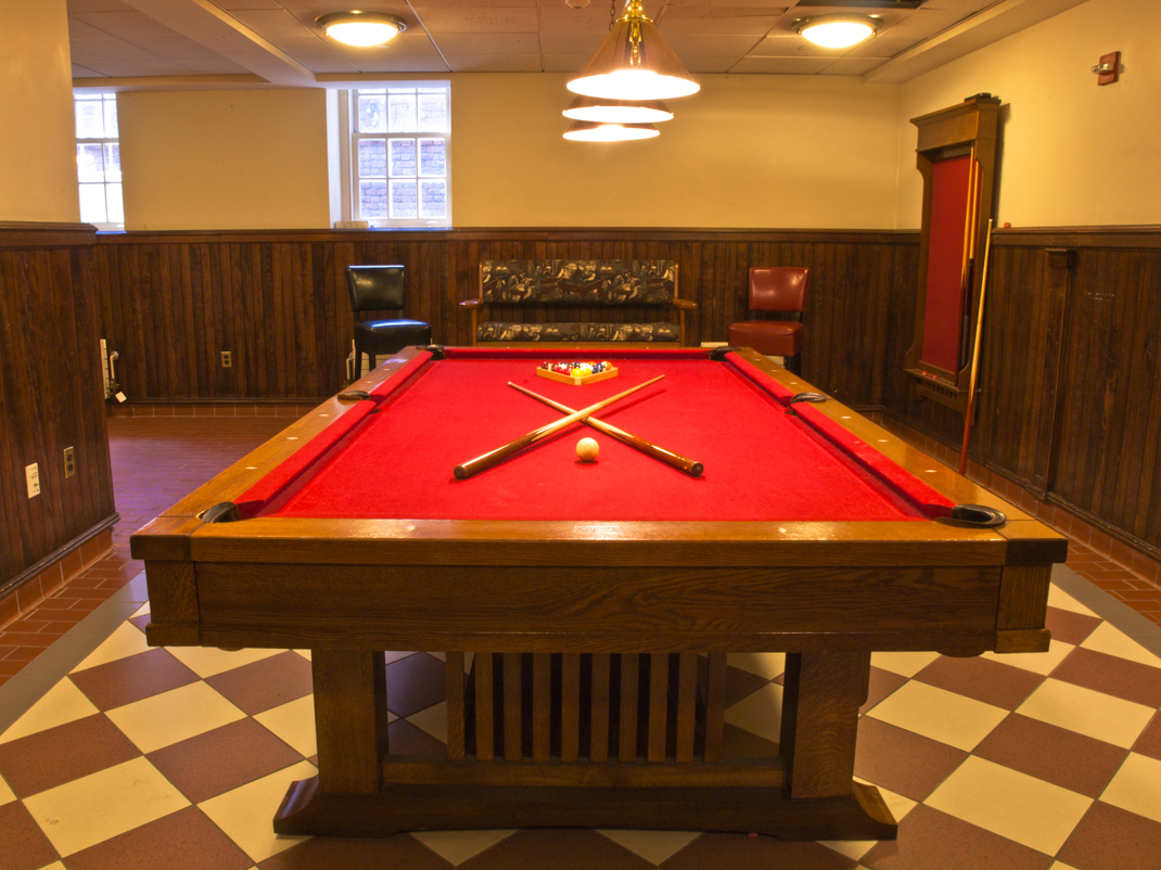 Timothy Dwight College - Game Room